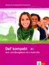 DaF kompakt A1 - 1. díl učebnice němčiny a pracovní sešit vč. 2 CD