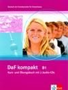 DaF kompakt B1 - 3. díl učebnice němčiny a pracovní sešit vč. 2 CD