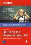 """Deutsch für Besserwisser A2 – cvičebnice edice """"deutsch üben"""" s CD"""
