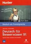 """Deutsch für Besserwisser B1 – cvičebnice edice """"deutsch üben"""" s CD"""