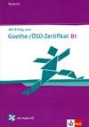 Mit Erfolg zum Goethe-/ÖSD-Zertifikat - testy k certifikátu + CD