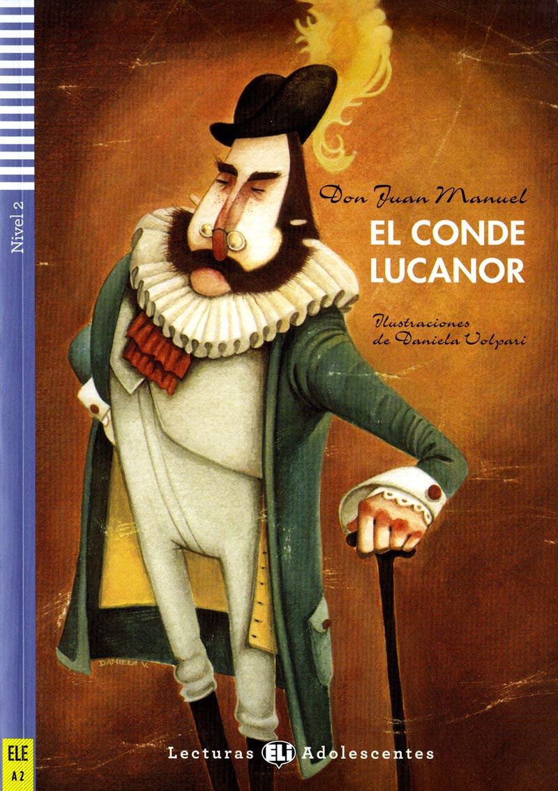 El conde Lucanor - četba ve španělštině A2 vč. CD