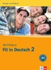 Mit Erfolg zu Fit in Deutsch 2 - cvičebnice a testy k certifikátu