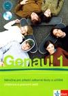 Genau! 1 CZ - učebnice němčiny vč. pracovního sešitu a 2 CD (CZ verze)