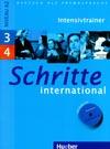 Schritte international 3 a 4 - cvičebnice + CD (Intensivtrainer)