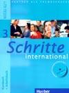 Schritte international 3 - učebnice němčiny a pracovní sešit s CD k PS