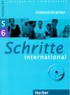 Schritte international 5 a 6 - cvičebnice + CD (Intensivtrainer)