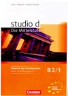 studio d: Die Mittelstufe B2/1 – učebnice němčiny a PZ + CD