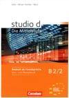 studio d: Die Mittelstufe B2/2 – učebnice němčiny a PZ + CD