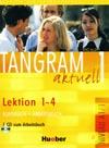 Tangram aktuell 1 (lekce 1-4) - učebnice němčiny a pracovní sešit s CD
