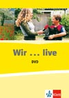 WIR...live – DVD k 1. - 3. dílu učebnice Wir vč. poracovních listů