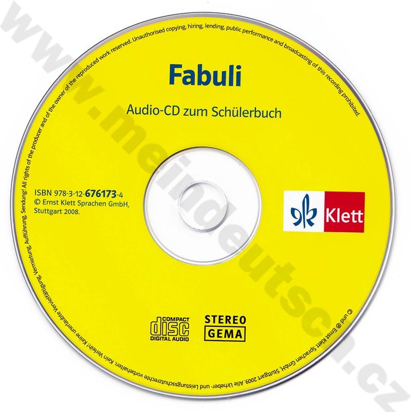 Fabuli - audio-CD k učebnici pro děti bez znalosti psaní a čtení