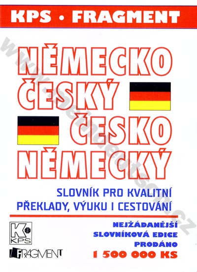Fragment - česko-německý a německo-český kapesní slovník