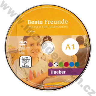 Beste Freunde A1 - video na DVD (díl A1.1 + A1.2)