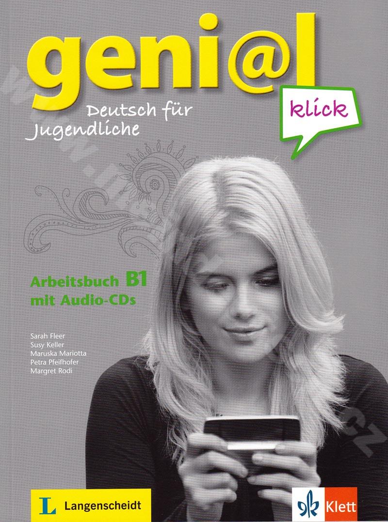 genial Klick B1 - pracovní sešit němčiny vč. 2 audio-CD