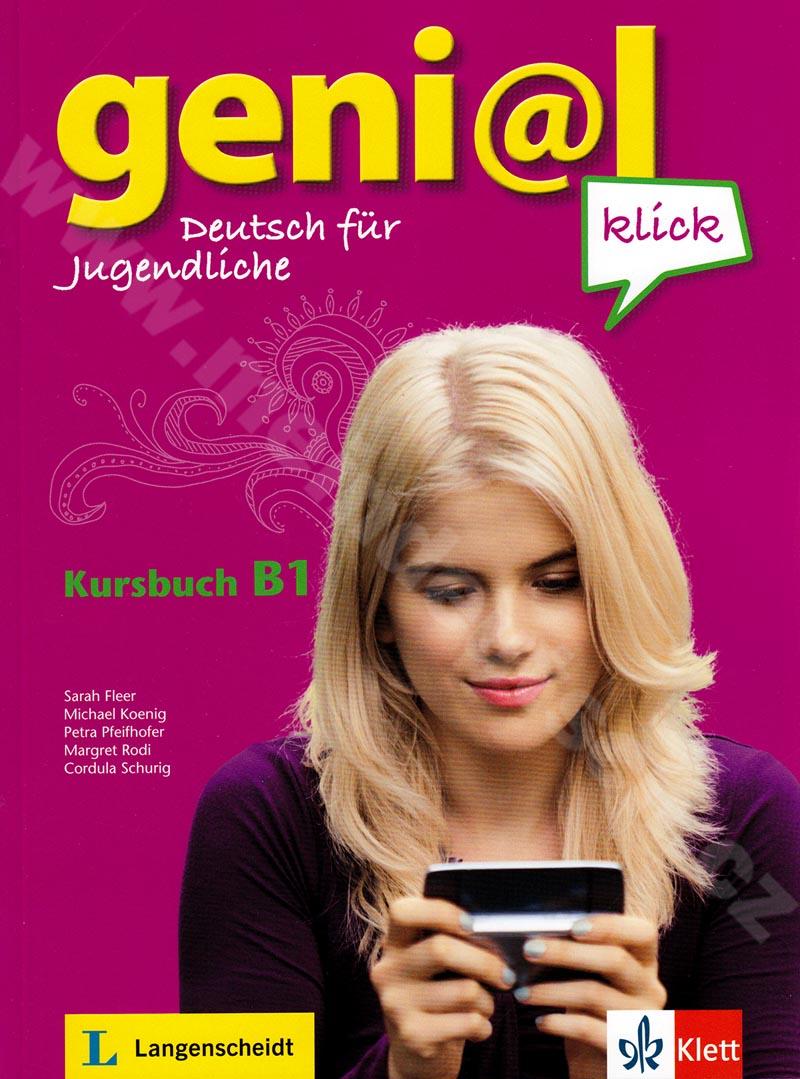 genial Klick B1 - učebnice němčiny vč. 2 audio-CD