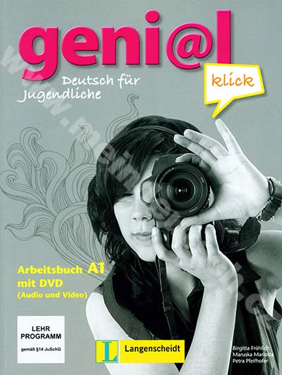 genial Klick A1 - pracovní sešit němčiny vč. 1 DVD-ROM