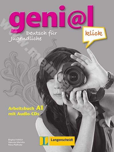 genial Klick A1 - pracovní sešit němčiny vč. 2 audio-CD
