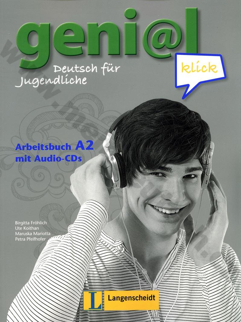 genial Klick A2 - pracovní sešit němčiny vč. 2 audio-CD