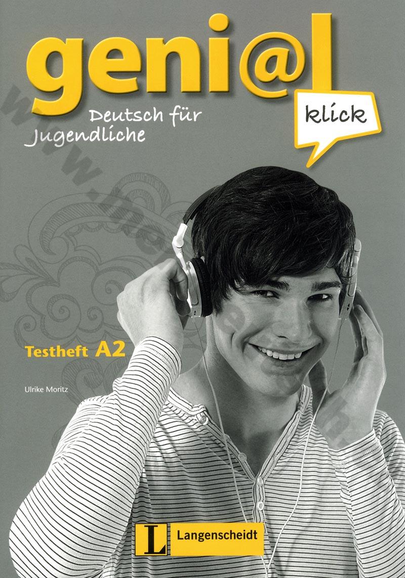 Fotografie genial Klick A2 - kniha testů k učebnici němčiny vč. audio-CD