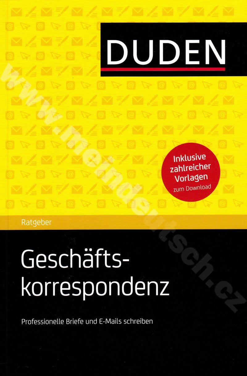 Duden Praxis - Geschäftskorrespondenz - německá obchodní korespondence