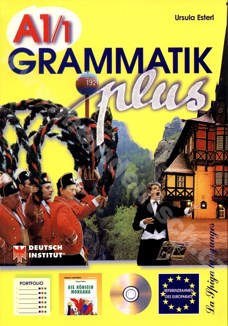 Grammatik plus A1.1 - cvičebnice německé gramatiky vč. audio-CD