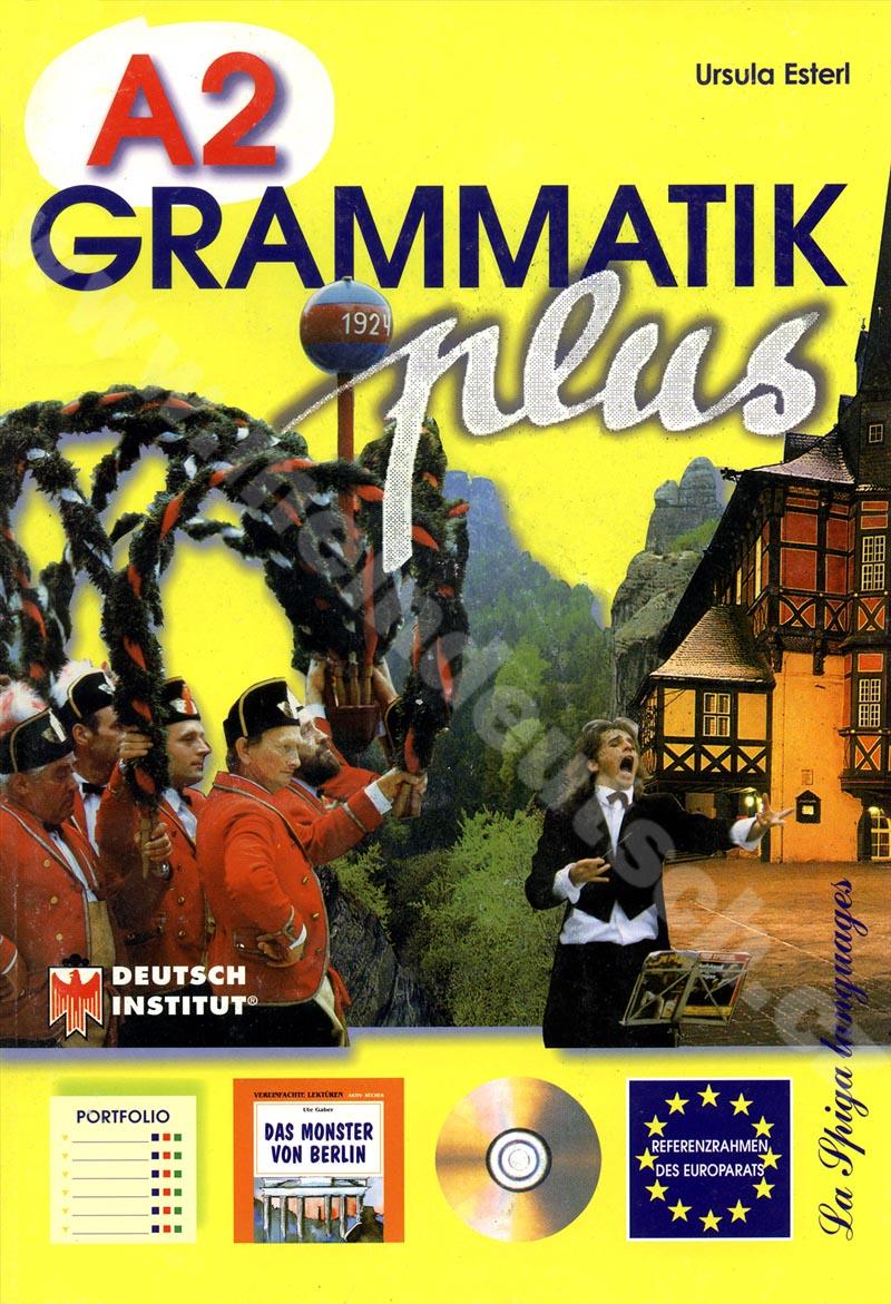 Grammatik plus A2 - cvičebnice německé gramatiky vč. audio-CD