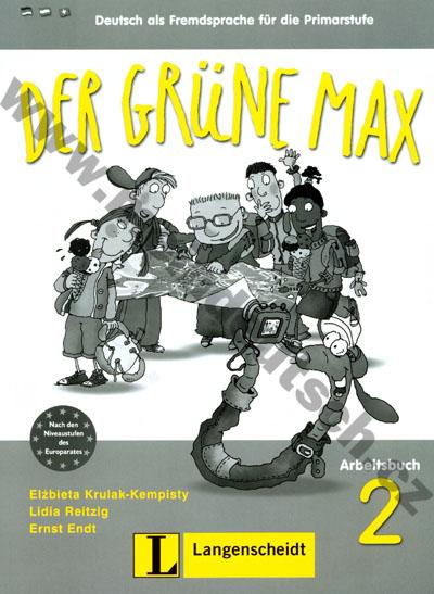 Der grüne Max 2 - pracovní sešit 2. díl vč. audio-CD