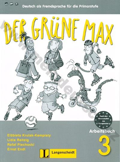 Der grüne Max 3 - pracovní sešit 3. díl vč. audio-CD