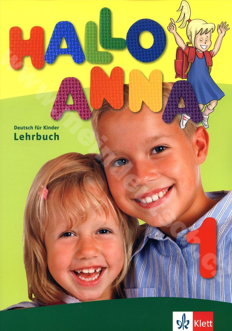 Hallo Anna 1 - učebnice němčiny pro děti vč. 2 audio-CD