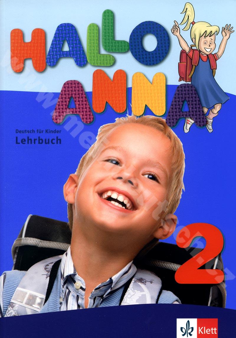 Hallo Anna 2 - učebnice němčiny pro děti vč. 2 audio-CD