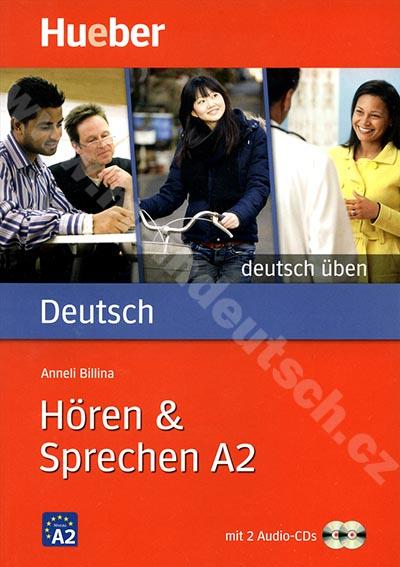 Hören + Sprechen A2, řada Deutsch üben - cvičebnice + 2 CD