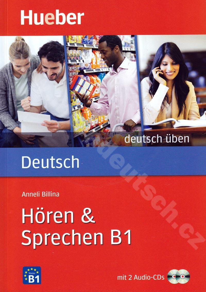 Hören + Sprechen B1, řada Deutsch üben - cvičebnice + 2 CD