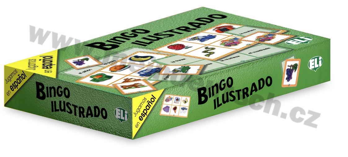 Bingo ilustrado - didaktická hra do výuky španělštiny