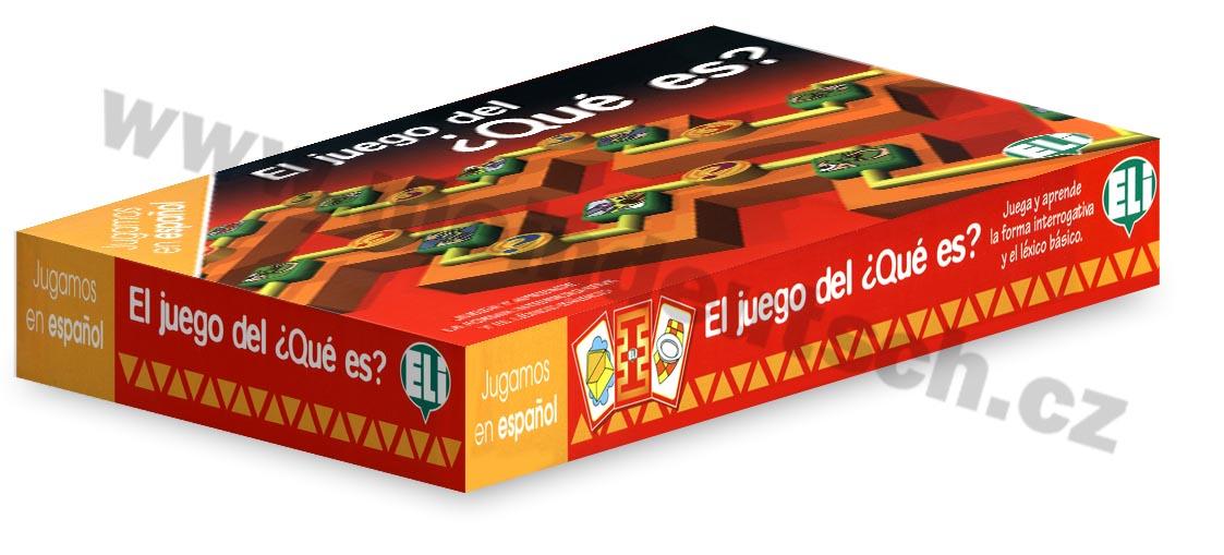 El juego del ?Qué es? - didaktická hra do výuky španělštiny