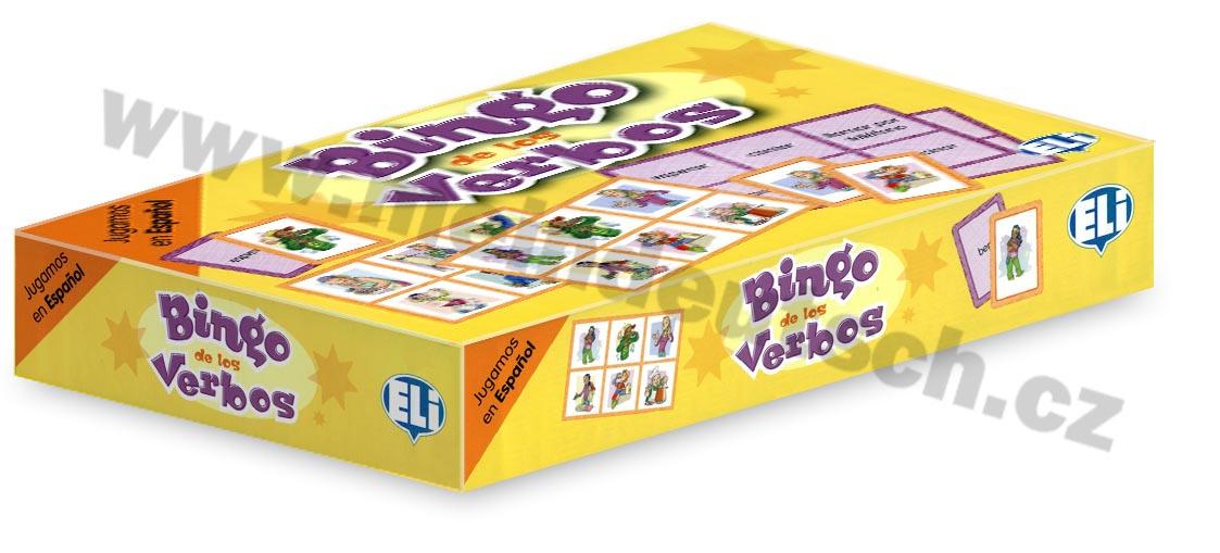 Bingo de los Verbos - didaktická hra do výuky španělštiny
