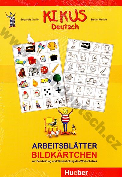 Kikus – pracovní listy/obrazové kartičky (Arbeitsblätter Bildkärtchen)