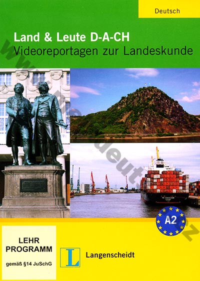 Land und Leute D-A-CH - DVD s reportážemi k německým reáliím