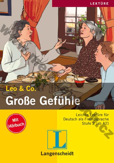 Leo & Co., Stufe 2 - Große Gefühle - četba + CD