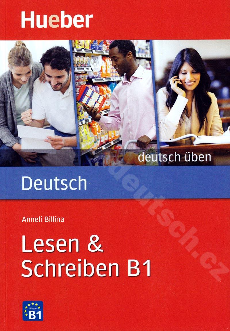 Lesen + Schreiben B1, řada Deutsch üben - cvičebnice němčiny