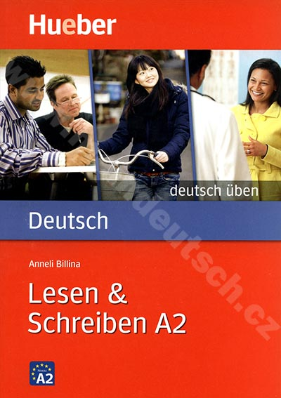 Lesen + Schreiben A2, řada Deutsch üben - cvičebnice němčiny