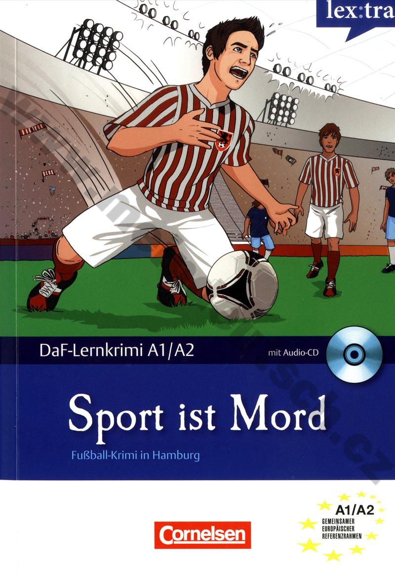 Sport ist Mord - německá četba edice Lernkrimi A1/A2 vč. audio-CD