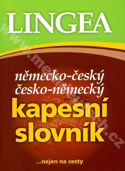 LINGEA - německo-český / česko-německý kapesní slovník