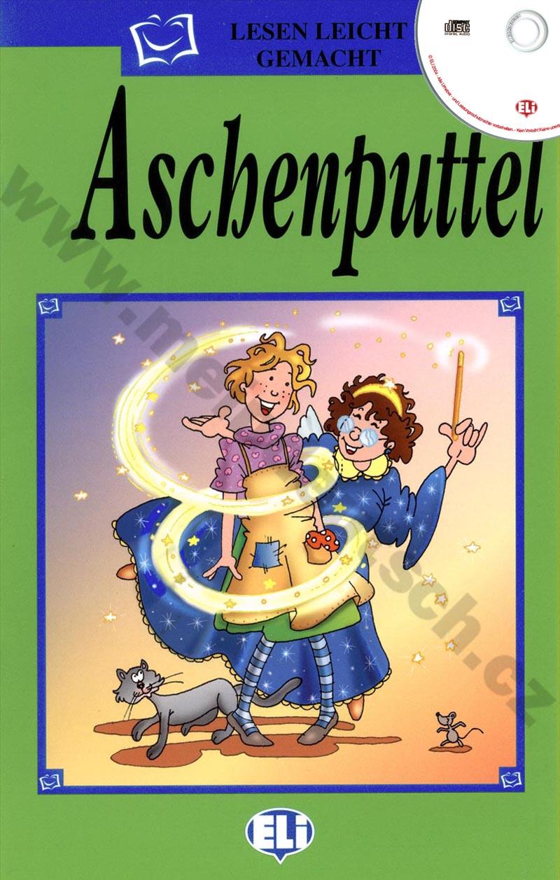 Aschenputtel - zjednodušená četba vč. CD v němčině pro děti