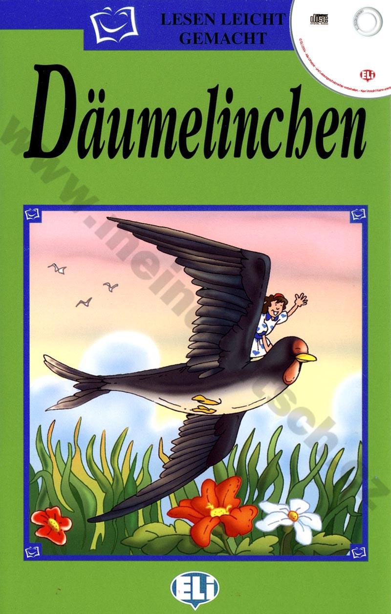 Däumelinchen - zjednodušená četba vč. CD v němčině pro děti