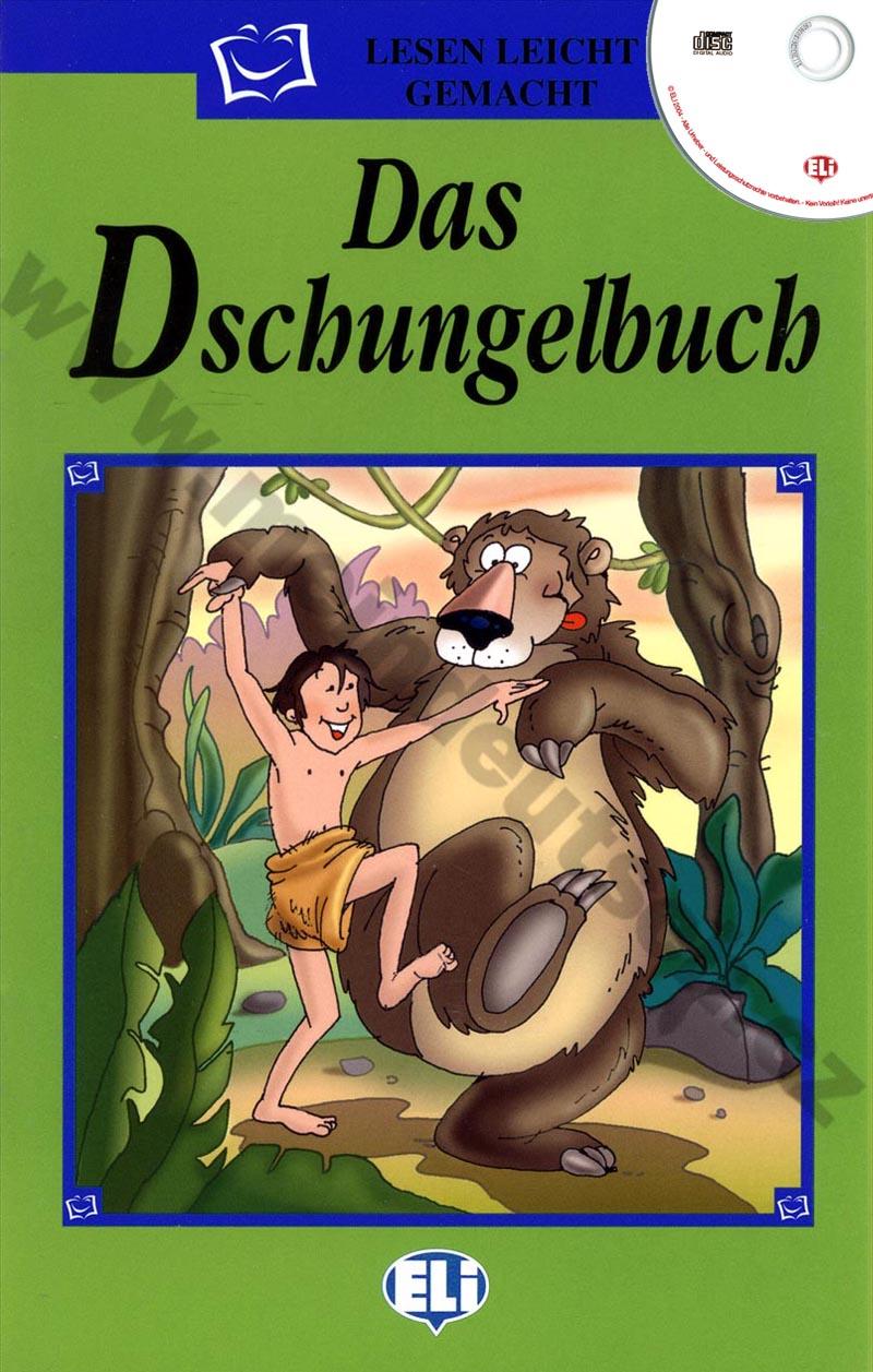 Das Dschungelbuch - zjednodušená četba vč. CD v němčině pro děti