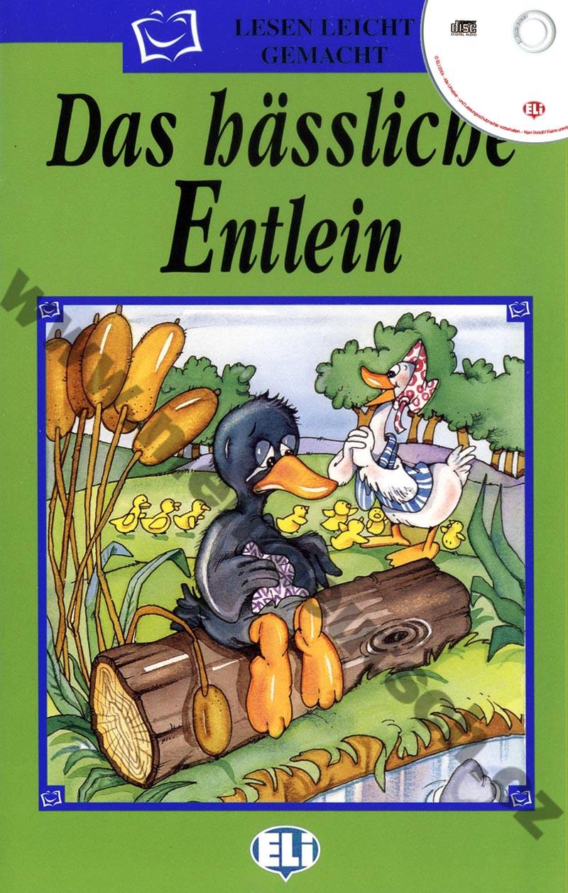 Das hässliche Entlein - zjednodušená četba vč. CD v němčině pro děti