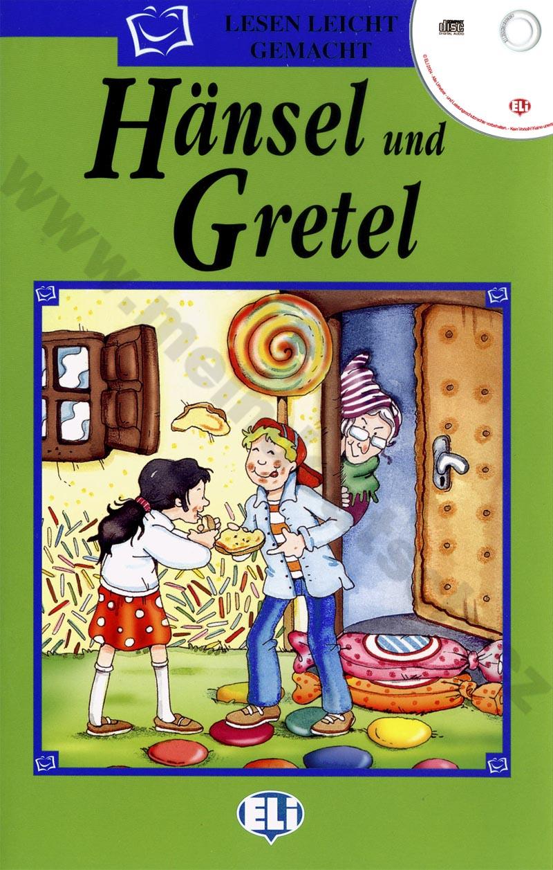 Hänsel und Gretel - zjednodušená četba vč. CD v němčině pro děti
