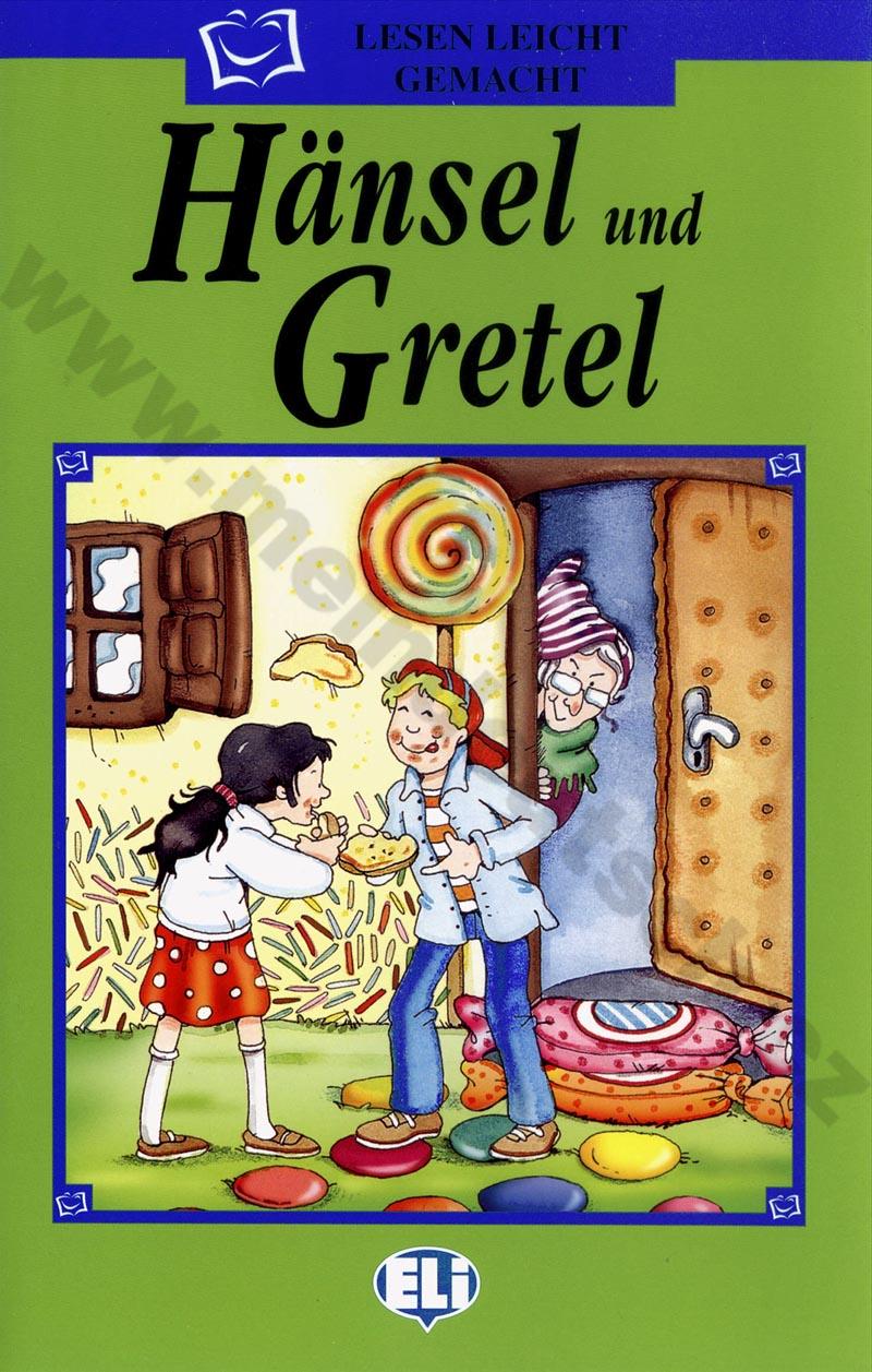 Fotografie Hänsel und Gretel - zjednodušená četba v němčině pro děti