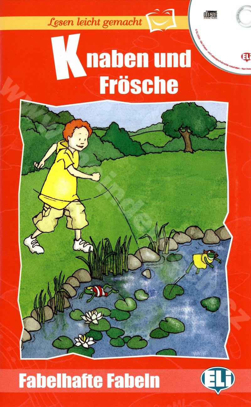 Knaben und Frösche - zjednodušená četba v němčině vč. CD pro děti